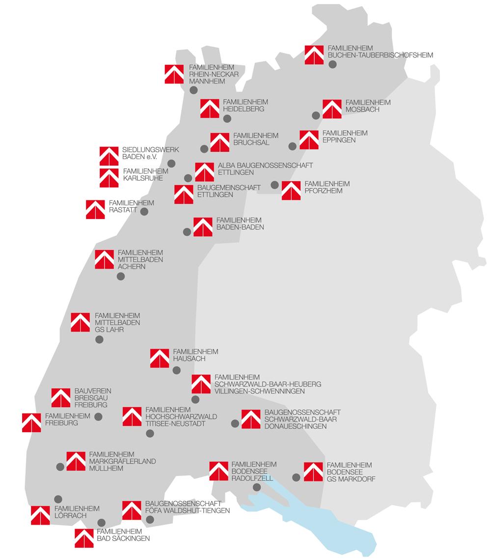 Karte Siedlungswerk